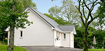Silver Birch, a highland hideaway for two people